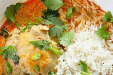 Braised Whole Chicken Coconut Curry