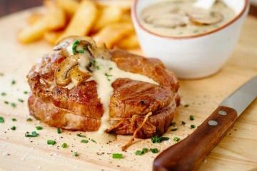Pork Bistro Scotch Steak